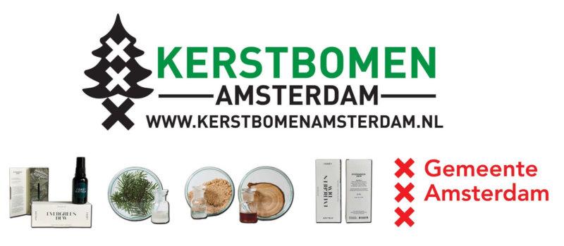 Kerstbomen Amsterdam Recycling